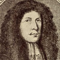 Heinrich Ignaz Franz von Biber, baptized today in 1644