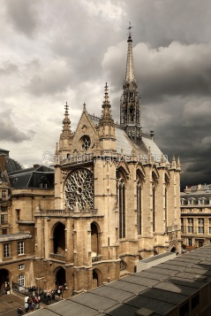 La Sainte-Chapelle (The Holy Chapel), Paris, France